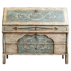 18th C. Venetian Ribalta Desk /Commode