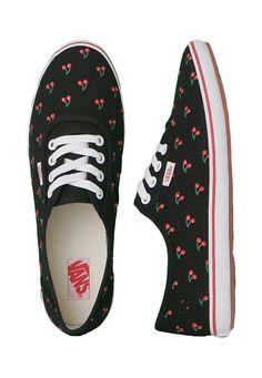 Order Vans - Cedar Cherries - Girl Shoes by Vans for at Impericon UK. 148268705