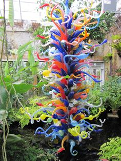 garden art | garden art glass | DIY Small Garden Landscape Design
