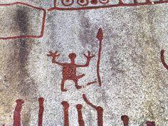 Bronze age rock carvings in Tanum, Sweden (Unesco world heritage)