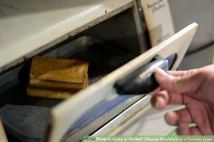 """Image titled Make a """"Grilled"""" Cheese Sandwich in a Toaster Oven"""