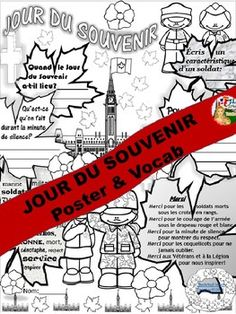 Browse over 90 educational resources created by The Artsy French Teacher in the official Teachers Pay Teachers store. French Teaching Resources, Teaching French, English Resources, Teaching Ideas, Classroom Resources, Remembrance Day Activities, Ontario Curriculum, Teach Dance, Canadian Soldiers