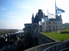 Central France. Castle Country.