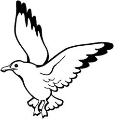 Seagull Coloring Page Flying Seagull Coloring Page Free Printable Coloring Pages Seagulls Coloring Pages Super Coloring Clipart Best Seagulls Coloring Page Free Printable Garden Coloring Pages, Bird Coloring Pages, Free Printable Coloring Pages, Coloring Sheets, Coloring Pages For Kids, Coloring Books, Disney Colors, Bird Drawings, Sea Birds