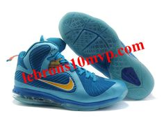 buy popular 86efe 9939c New Nike Lebron 9 Shoes For Sale China Edition Blue Flame 469764 800