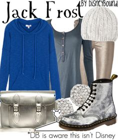 Disney Bound - Jack Frost (Rise of the Guardians)