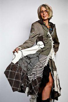 Cutest Patchwork Coat ever!!!!! :)