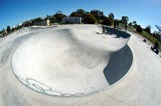 Newport Skatepark Melbourne