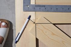 $50 DIY British Brace Barn Door - Remington Avenue