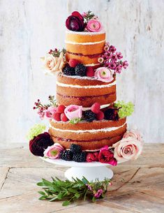 Stacked Victoria sandwich recipe from Decorated by April Carter   Cooked