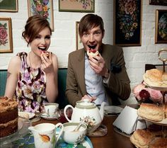 thanks to Paul once again, sorry i made you buy this twice BRITISH TO A TEA Sophie Ellis-Bextor and Dan Gillespie Sells talk about their. Sophie Ellis Bextor, Attitude, Fangirl, People, People Illustration, Fan Girl