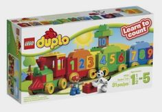 LEGO DUPLO My First Number Train Building Set 10558: Toys http://amzn.to/2cJHU5w