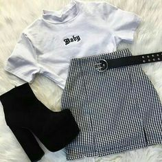 # Outfits for teens Teen Fashion Outfits, Edgy Outfits, Cute Casual Outfits, Mode Outfits, Retro Outfits, Grunge Outfits, Outfits For Teens, Vintage Outfits, Girl Outfits