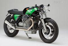 No. 9, Moto Guzzi 1000 SP custom by Kaffeemaschine | via Pipeburn