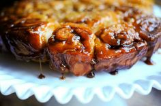 Caramel apple sticky buns.