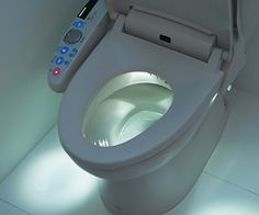 Japanese High Tech Toilet - A bathroom is sanitation equipment used for the utilization of excretion and it is vital that Garden Posts, Home Tech, Toilet Design, Urban Survival, Japan Design, Garden Styles, Smart Home, Home Furnishings, Are You The One