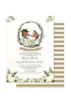 Winter Wedding Stationery : Brides.com