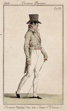 1806 men's clothes..top hat :)