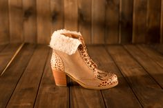 PARIS Boots Nude Super Warm for Winter!  #froufroushoes #boots #winter #fashion