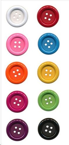 6 Large Buttons 15 Inches choose color by angelasfabricandtrim, $3.00