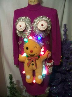 Now THAT is one ugly Christmas Sweater...
