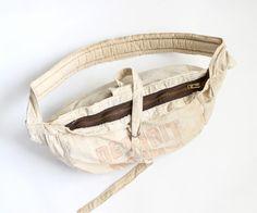 Vintage ヴィンテージ News Paper Bag ニュースペーパーバック - THE DETROIT NEWS
