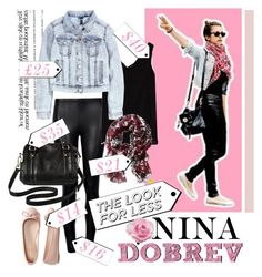 """Nina Dobrev- The look for the less ♥"" by tvdsarahmichele ❤ liked on Polyvore featuring Ally Fashion, Zara, H&M, Aéropostale, Merona and Banana Republic"