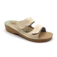 Leon V252 női bőr papucs - Bézs Sandals, Shoes, Products, Fashion, Moda, Shoes Sandals, Zapatos, Shoes Outlet, Fashion Styles