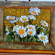Discover thousands of images about solange Piffer ( Mosaic Tray, Mosaic Tile Art, Mosaic Artwork, Mosaic Crafts, Mosaic Projects, Mosaic Glass, Glass Art, Mosaic Drawing, Easy Mosaic