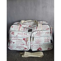 Cotton Road Red Windmill Nappy/Weekender Bag Windmill, Weekender, Suitcase, Handbags, Red, Cotton, Shoes, Fashion, Travel Purse