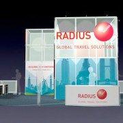 RADI001 – 20×50 Trade Show Booth Rental