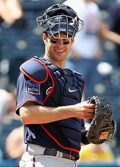 Joe Mauer catcher for the Minnesota Twins