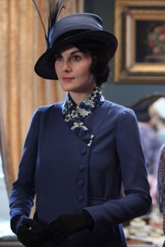 Downton Abbey costumes are fantastic