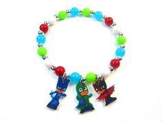PJ Masks Charm Bracelet, PJ Masks Jewelry, PJ Masks Birthday, Pj Masks Party Favors, Pj Masks Necklace, pjmasks