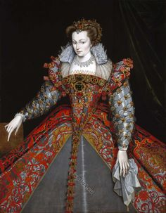 Portrait of Louise de Lorraine-Vaudémont by François Clouet, ca 1570 France, MFA Houston I& been wanting to post this for quite a while but I haven& because I& been looking for a larger image. Mode Renaissance, Costume Renaissance, Elizabethan Costume, Elizabethan Fashion, Elizabethan Era, Renaissance Portraits, Renaissance Clothing, Renaissance Fashion, 1500s Fashion