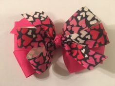 A personal favorite from my Etsy shop https://www.etsy.com/listing/491858080/valentines-day-double-layered-hair-bow