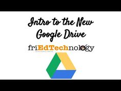 Intro to the New Google Drive July 2014 - YouTube