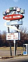 Rainbo Roller Skating, Noblesville, Indiana I went here as a teenager Roller Skating Pictures, Noblesville Indiana, Roller Rink, 1970s Childhood, Drive In Theater, Googie, Time Capsule, Prehistoric, Back Home