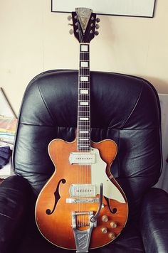 Vintage 1962 Kay Jazz 2 guitar. by lennypip, via Flickr