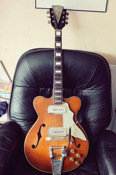Vintage 1962 Kay Jazz 2 guitar. by lennypip, via Flickr
