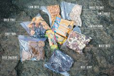 HIKING FOOD  //   FOXINTHEPINE.COM.  Potential items to make for DHs annual death march backpacking trip.