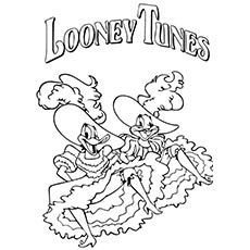LOONEY TUNES DAFFY DUCK | COLORING PAGES | Pinterest ...