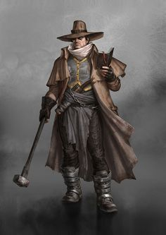 Aurumite auditor. These inquisitors travel the frontier, hunting down law breakers and assuring that Aurumite law is practiced free of corruption.