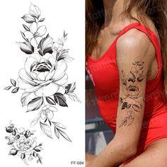 Fake Tattoo Sleeves, Temporary Tattoo Sleeves, Sleeve Tattoos, Floral Tattoo Design, Butterfly Tattoo Designs, Tattoo Designs For Women, Forarm Tattoos For Women, Cool Tattoos For Guys, Real Tattoo