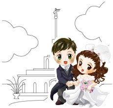 Casal no Templo