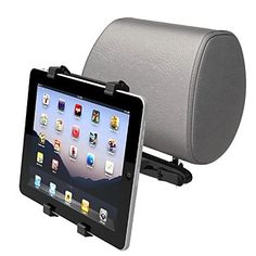 Universal Car Headrest Mount Holder Cradle for iPad/Tablet/PC/Ebook – US$ 9.99