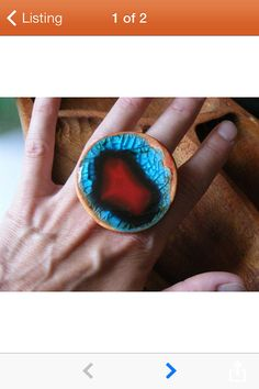 Cocktail Ring in Fiesta