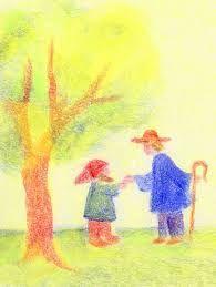 Resultado de imagem para waldorf children crayon drawing
