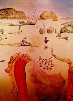 Paranoia (Surrealist Figures) - Salvador Dali