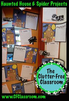 Clutter-Free Classroom: My Fall Bulletin Board Tour